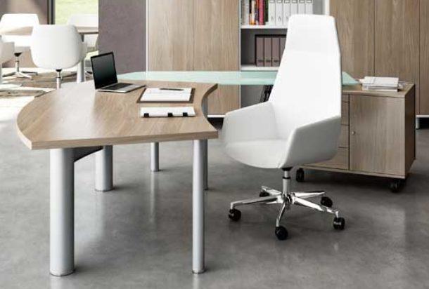 Scrivania direzionale gamba next Quadrifoglio x time work Adv arredamentI ufficio Torino