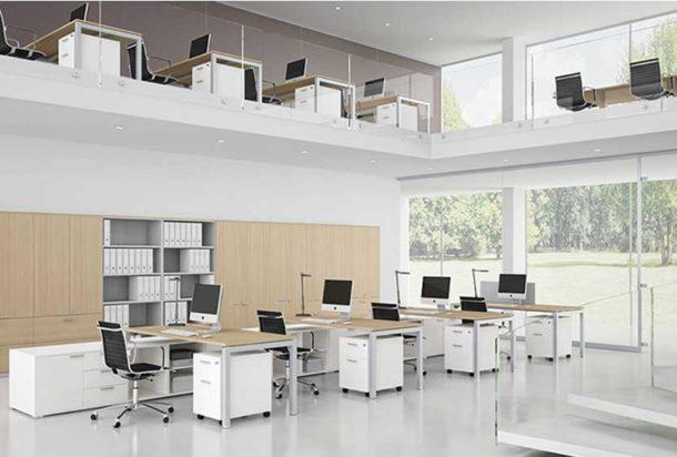 Scrivania operativa Bralco Gate Adv arredamentI ufficio Torinoo