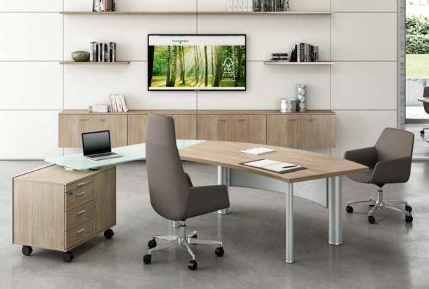 Tavolo riunioni gamba sottile base ragnetto Quadrifoglio x time work Adv arredamentI ufficio Torino