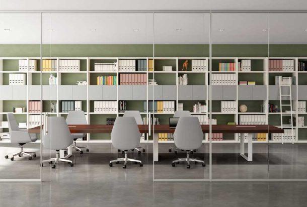 Tavolo riunioni QUADRIFOGLIO T-45 Adv arredamento ufficio Torino