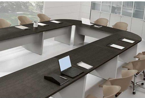 Tavolo riunioni Bralco Basic Adv arredamento ufficio Torino