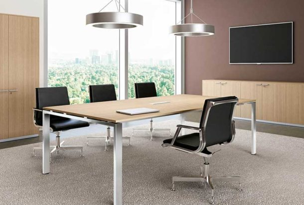 Tavolo riunioni Bralco Glider Adv arredamento ufficio Torino