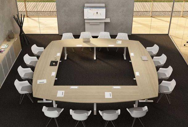 Tavolo riunioni Bralco TAKEOFF WINGLET Adv arredamentI ufficio Torino