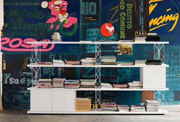 libreria Sinetica Wire Adv arredamenti ufficio Torino