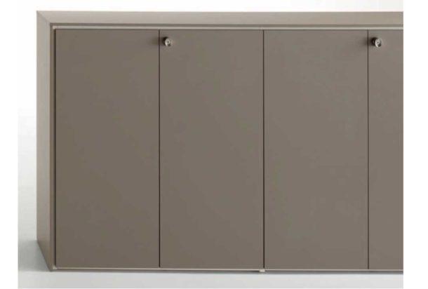 armadio mobile contenitore alto Open Doimo Office Adv arredamenti ufficio Torino