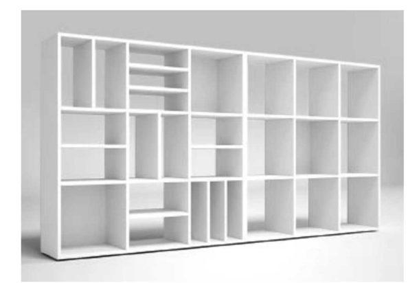 libreria Milton Colombini Adv arredamenti ufficio Torino