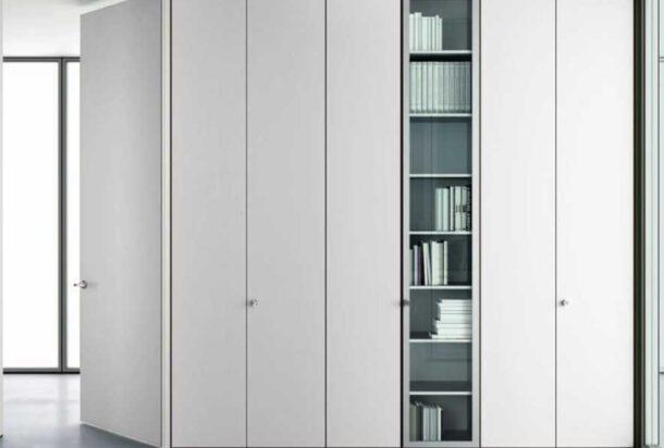 armadio Doimo parete attrezzata Dox Adv arredamenti ufficio Torino