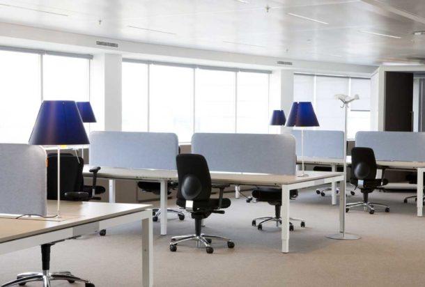 pannello fonoassorbente piano scrivania buzzi space buzzi desk acustica Adv arredamenti ufficio Torino