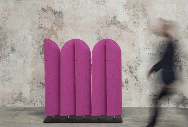 pannello fonoassorbente terra buzzi space buzzi blinds acusticax Adv arredamenti ufficio Torino