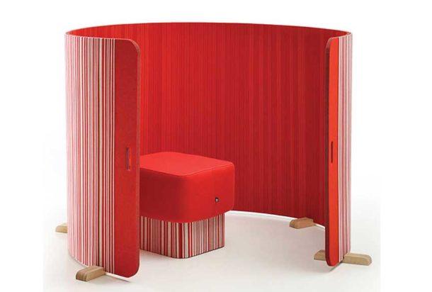 pannello fonoassorbente terra buzzi space buzzi twist acustica Adv arredamenti ufficio Torino Adv arredamenti ufficio Torino