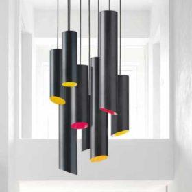 Illuminazione Quadrifoglio Slice lampada a sospensione