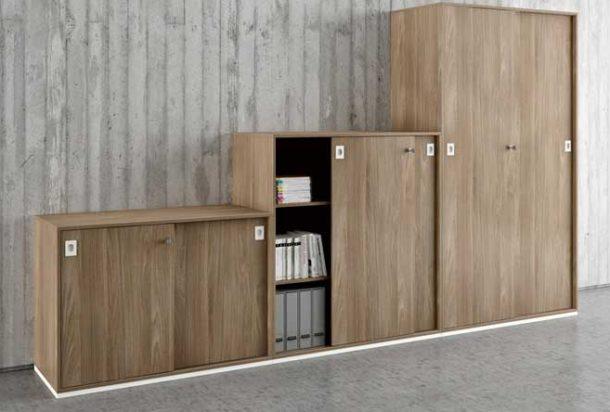 armadio ante scorrevoli Officity Quadrifoglio Adv arredamenti ufficio Torino