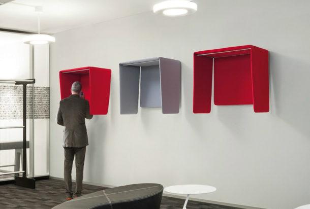cabina telefonica piccola da muro cocker caimi Adv arredamenti ufficio Torino