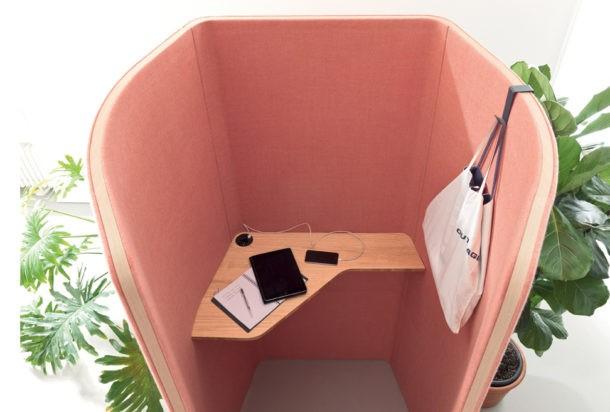 Martex Phone BOOTH cabina fonoassorbente Adv arredamenti ufficio Torino