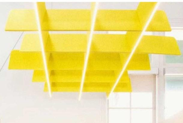 Buzzi Grid pannello fonoassorbente Adv arredamenti ufficio Torino