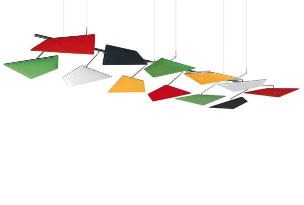 Caimi Flap pannello fonoassorbente Adv arredamenti ufficio Torino