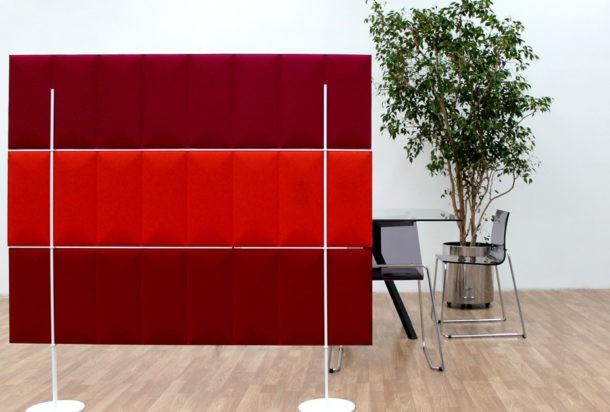 eco desk pannello fonoassorbente Adv arredamenti ufficio Torino