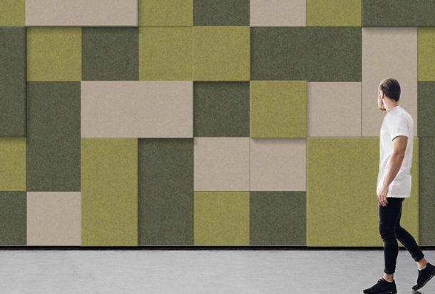 Slalom T-frame surface pannello fonoassorbente Adv arredamenti ufficio Torino
