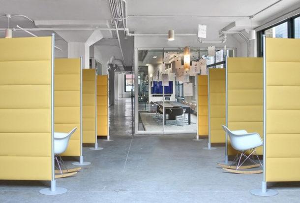 Slalom Ecostrong hub pannello fonoassorbente Adv arredamenti ufficio Torino