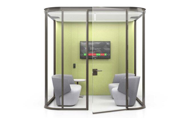 Estel Collaborative room box vetrato
