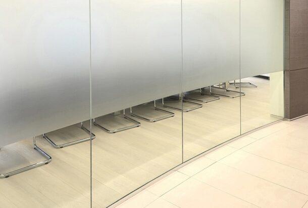 Line office roundwall a parete divisoria