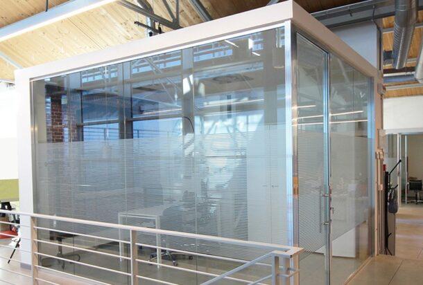 Line office Spark parete divisoria