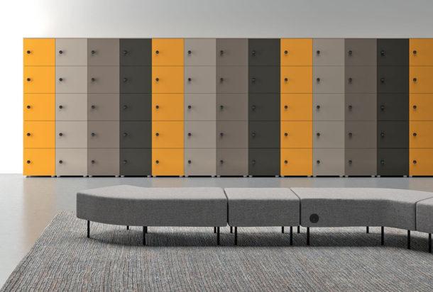 lockers Martex Adv arredamenti ufficio Torino