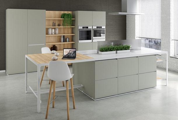 cucina Estel coffice isole H 90-150 Adv arredamenti ufficio Torino