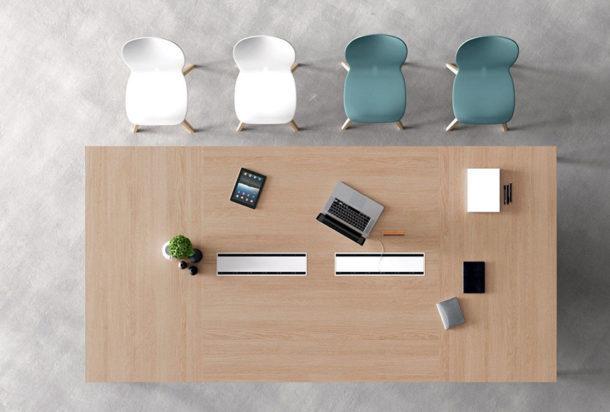 Tavolo riunioni Martex Agile Adv arredamento ufficio Torino