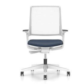seduta operativa bianca Interstuhl movy adv arredamento ufficio Torino