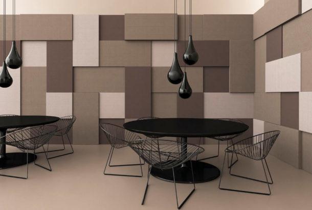 Garvan atelier rivestimento parete e soffitto Adv arredamenti ufficio Torino
