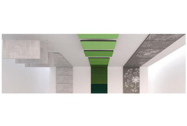 Garvan Surface rivestimenti materici soffitto Adv arredamenti ufficio Torino Adv arredamenti ufficio Torino
