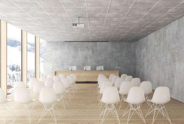 Garvan Quadra sistema acustico per controsoffitto Adv arredamenti ufficio Torino Adv arredamenti ufficio Torino