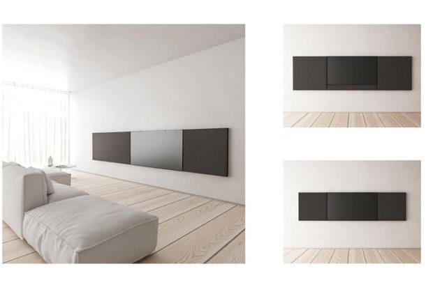 Garvan Cinematelier pannelli acustici con speaker integrato Adv arredamenti ufficio Torino